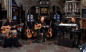 Finn Olafsson with Torsten Olafsson and Michael Vogelius Larsen in Frederiksborg Castle Castle Chapel on September 29, 2013
