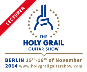 The HOLY GRAIL Guitar Show in Berlin 2014
