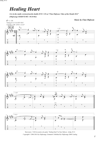 Hamlet's Castle sheet music / TAB