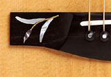 Kehlet Grand Folk Finn Olafsson Signature, inlay in bridge